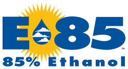 E85 logo used in the United States. © DR
