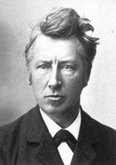 Jacobus Henricus Van't Hoff was a Dutch chemist. He was awarded the Nobel prize for chemistry and explained osmotic pressure. © Wikipedia_public domain