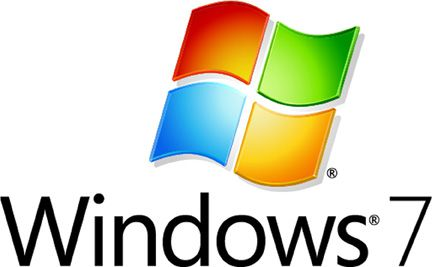 Official logo of Microsoft Windows 7. © Microsoft