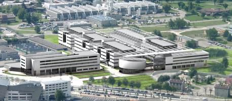 Minatec, the European temple of micro and nanotechnology, was inaugurated on 2 June 2006 at Grenoble.