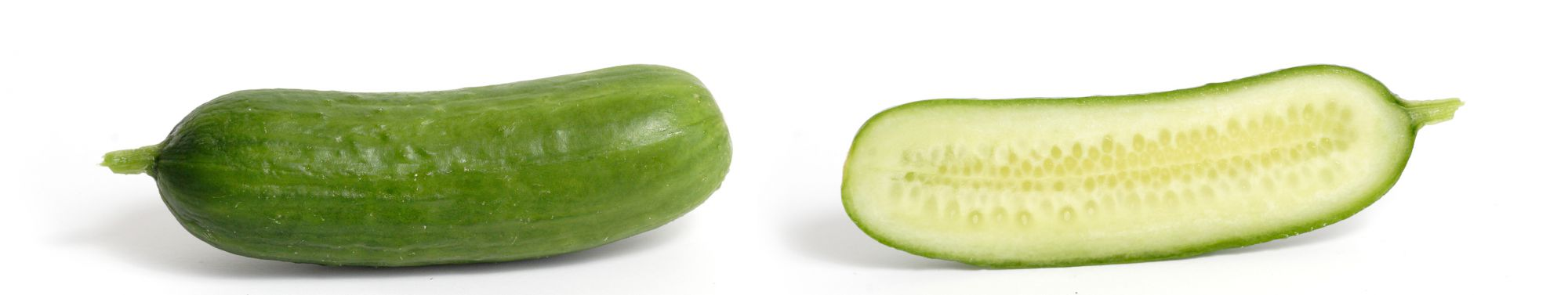 Cucumbers are great to eat when the summer is at its hottest. © Wikimedia Commons
