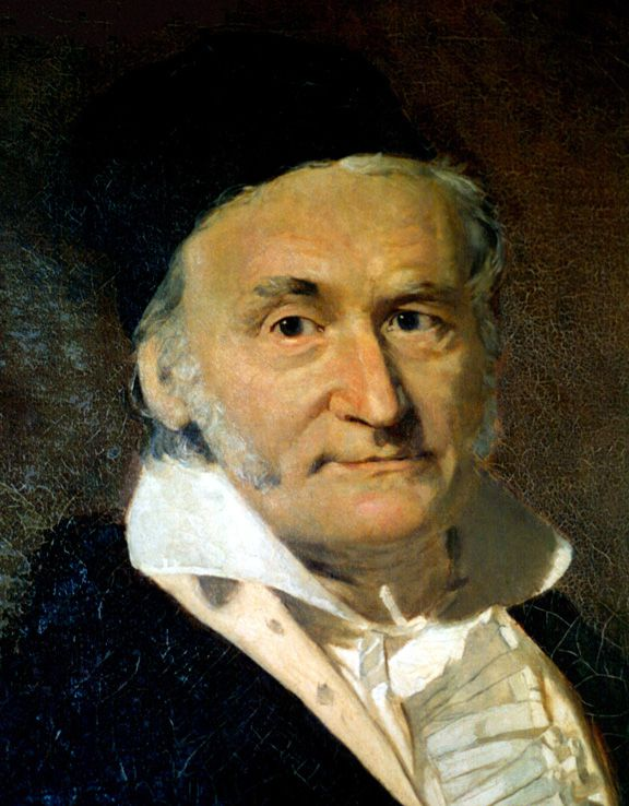 The mathematician Carl Friedrich Gauss, who devised the CGS system. © Wikipedia