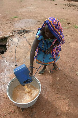 Unsanitary water causes more deaths worldwide than war. © hdptcar CC by-sa 2.0
