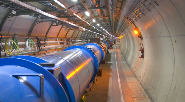 The LHC in its 27 kilometre circumference tunnel. © LHC