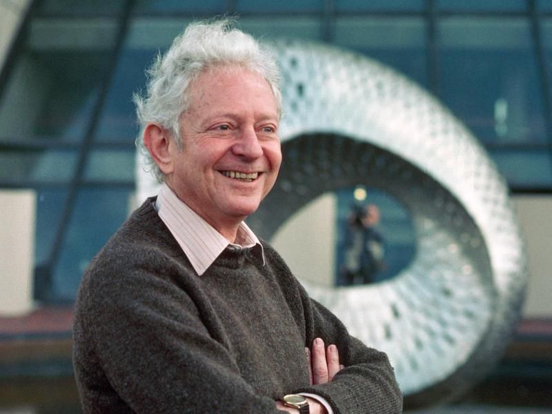 Leon M. Lederman, Nobel physics prize winner, co-discoverer of the muon neutrino. © Fermilab