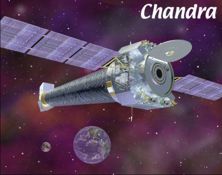 Chandra, a specialised space telescope for the observation of X-ray sources. (Credits: NASA)