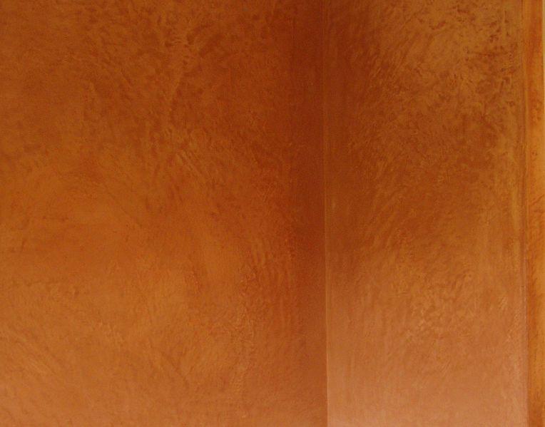 Tadelakt wall. © Stéphane Baron, public domain