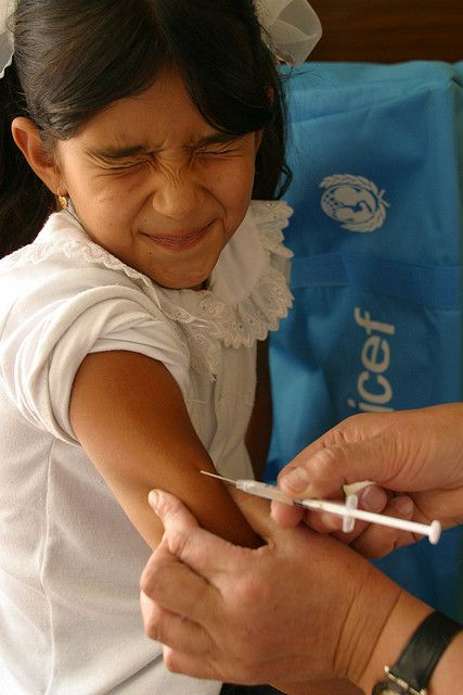 Vaccination is one of the prophylactic measures. © Unicef Sverige CC by 2.0