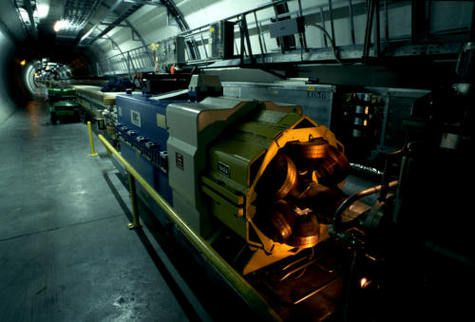 View of the LEP while it was still in service (Credit: CERN).