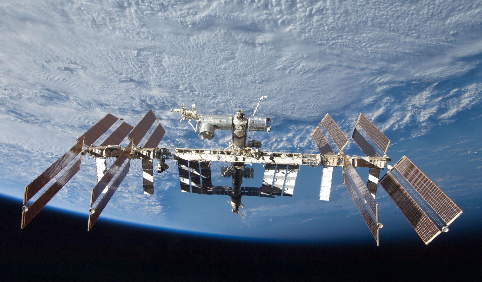 The International Space Station. © DR