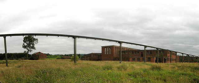 An old British slurry pipeline used to transport suspended coal. © Paulus Maximus CC by-nc-nd 2.0