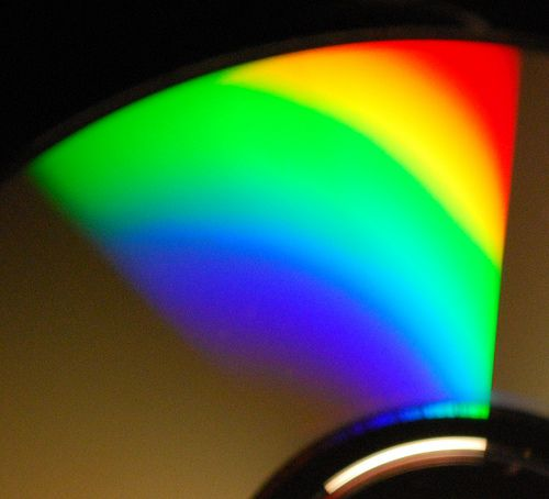 The light spectrum of an incandescent light bulb with a CRI close to 100. © Jason-Morrison CC by-nc 2.0