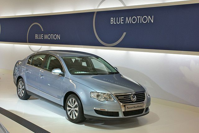 Presentation of the Blue Motion version of the Passat. © Bentley Smith CC by-nc-sa 2.0