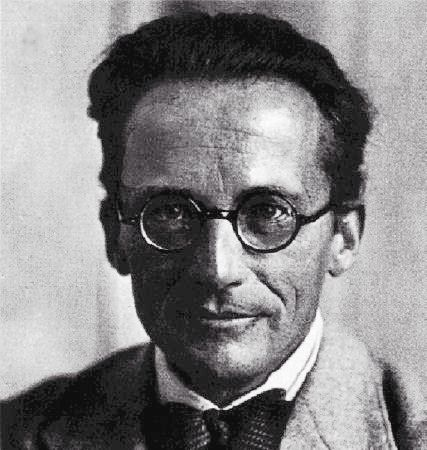 Erwin Schrödinger, the discoverer of wave mechanics. © th.physik.uni-frankfurt