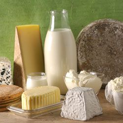 Lacto-vegetarians may eat dairy products. DR credits