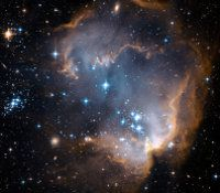 In cosmology recombination is a very early period in the universe. © Seven portraits, CC by nc