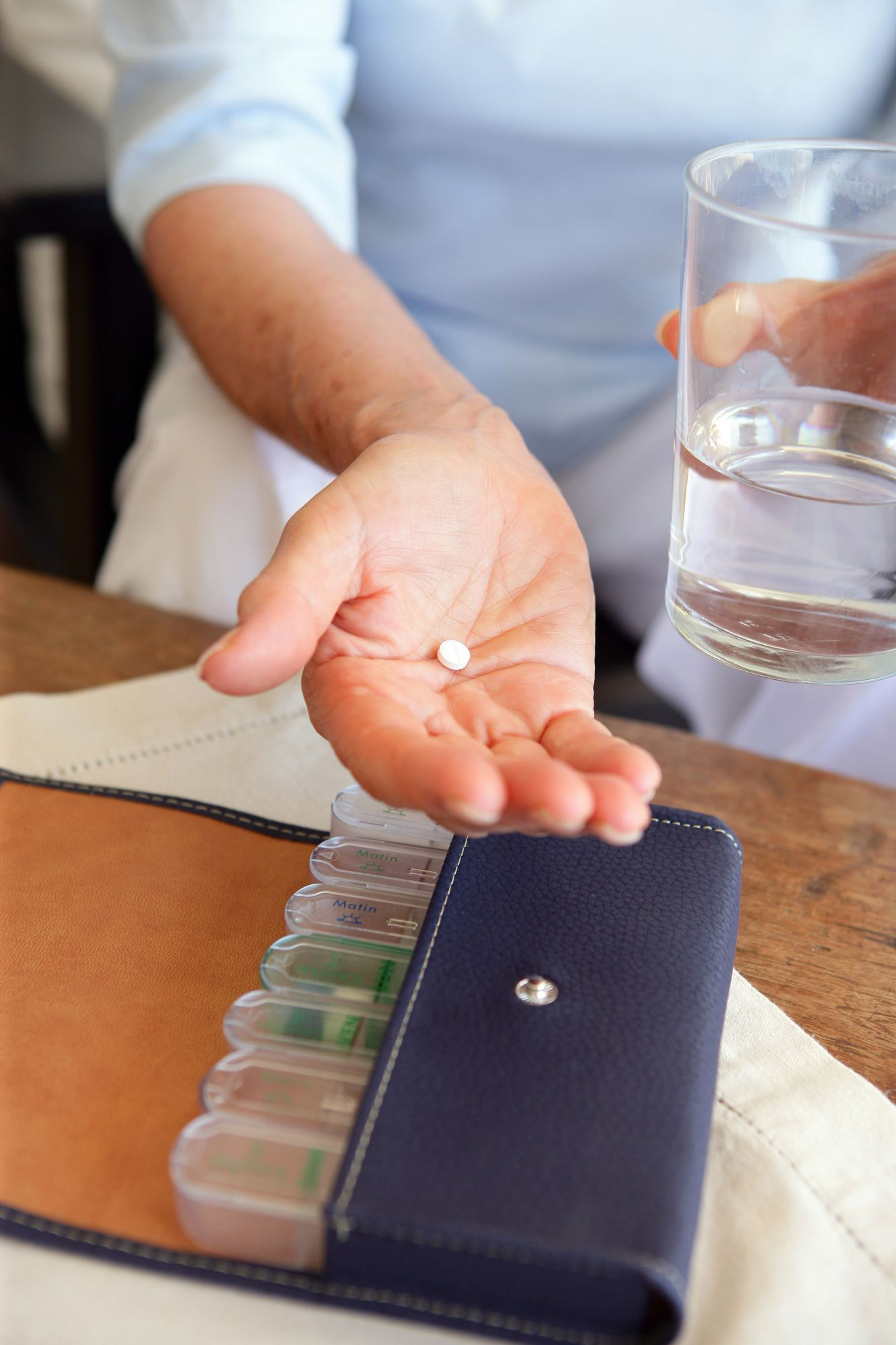 These treatments inhibit the sympathetic nervous system. © Phovoir