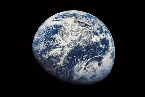 The Earth, seen from Apollo 8