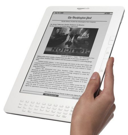 The Kindle 3G Wireless Reading Device, the latest in the Kindle range, electronic book pioneer. © Amazon