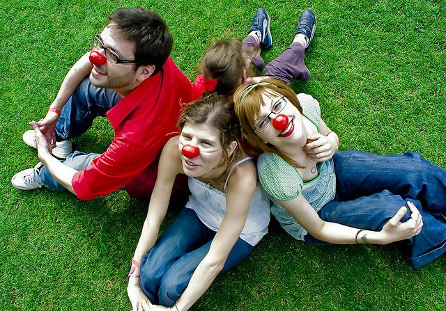 Red noses (Federation for orphan diseases) combats orphan diseases © Trypode, Flickr, CC by-nc 2.0