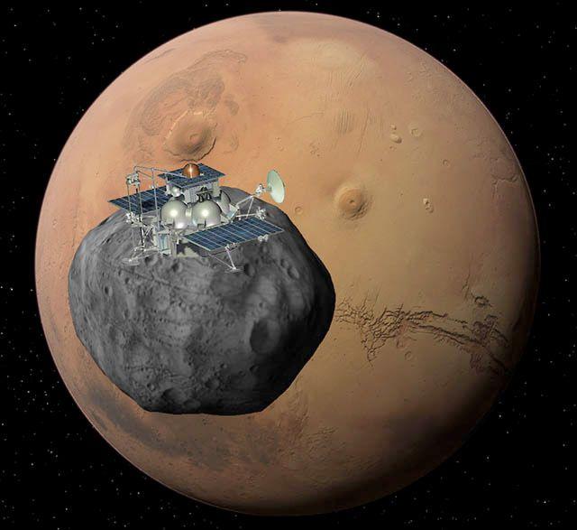The Phobos-Grunt probe. © Roscosmos