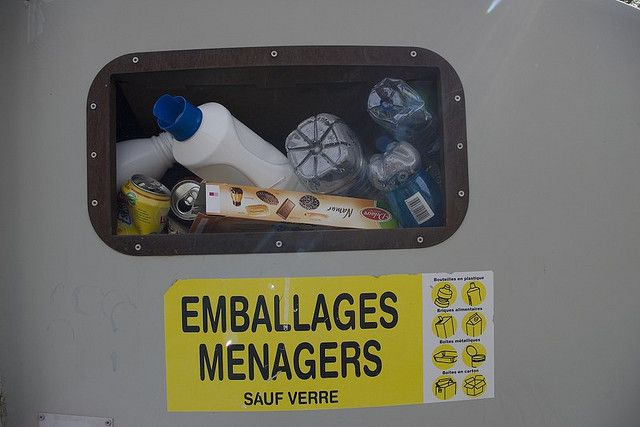 Over-packaging causes an increase of the volume of waste for recycling. © Boris Drenec CC by-nc-sa 2.0