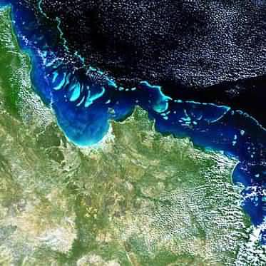 The Great Barrier Reef seen by Envisat