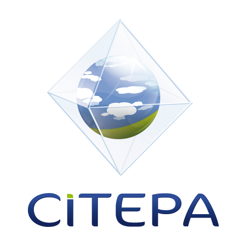 Logo of the Interprofessional Technical Centre for the Study of Atmospheric Pollution. © CITEPA