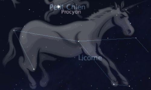 Constellation of Monoceros