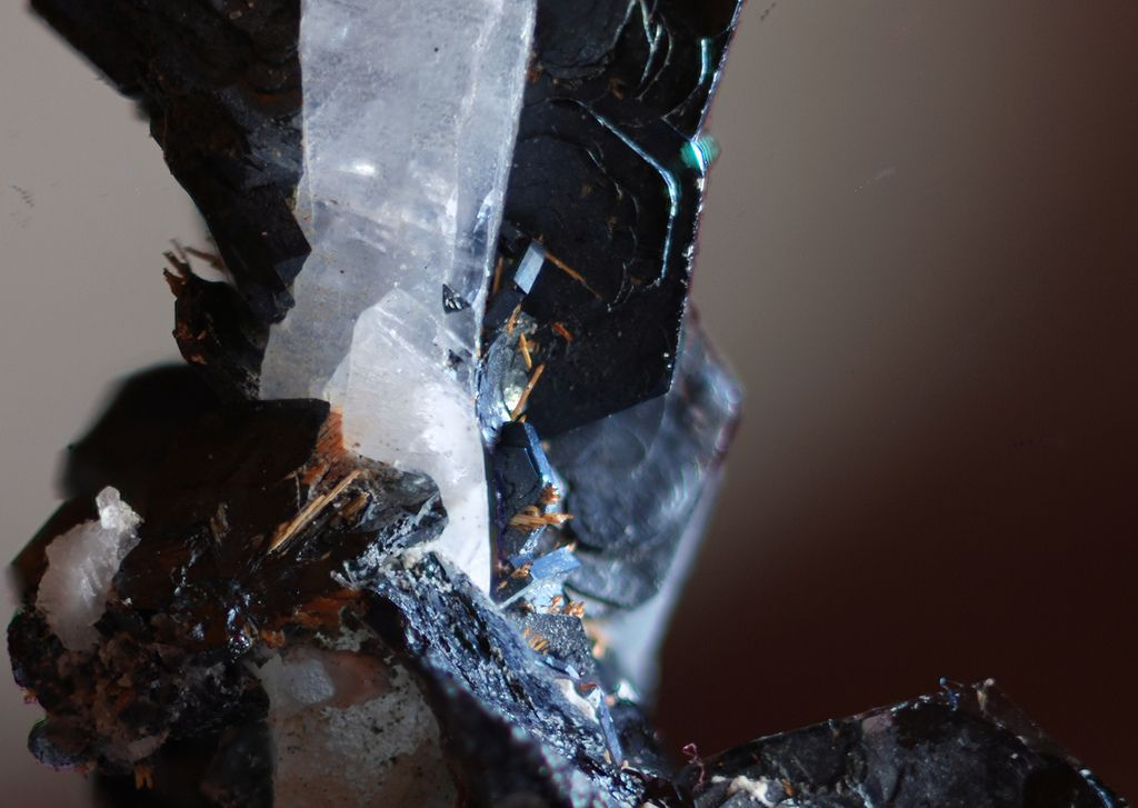 Rutile can form detritic deposits. © Reve errant, Flickr CC by nc-nd 2.0