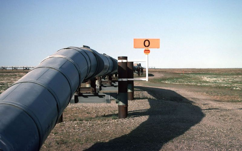 The Trans-Alaska pipeline. © Public domain