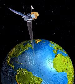 Altimetry is a satellite measurement. © educnet.education.fr