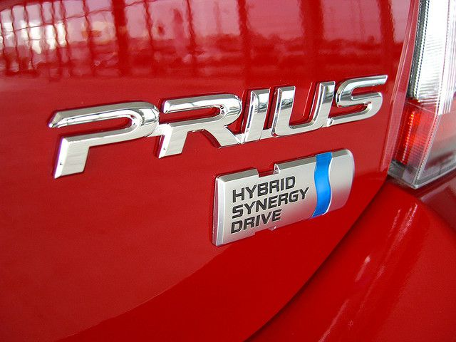 The Prius, an icon of hybrid vehicles. © Beth and Christian CC by 2.0
