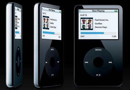 The fifth iPod goes video.