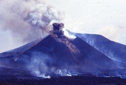 Mount Etna erupting in July 2001. (Credits: C. Ferlito & J. Siewert)