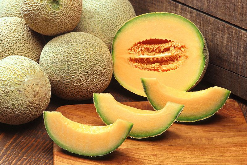 The melon is a very sweet summer fruit. © DR