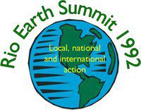 Rio de Janeiro 1992 Earth Summit logo. © UNCED