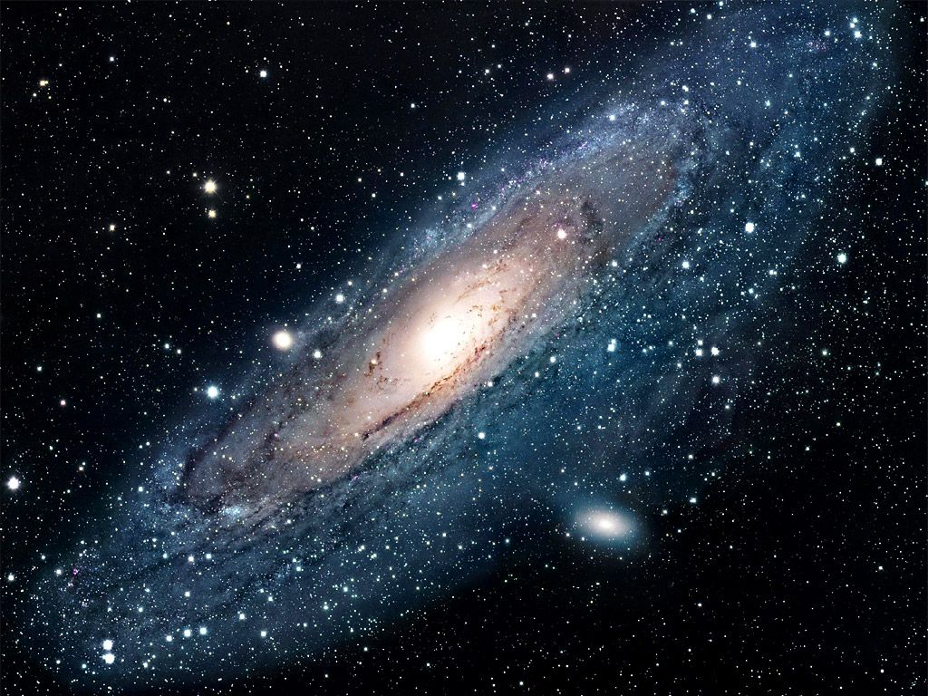 The Andromeda galaxy. © NASA