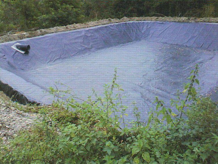 Pond geomembrane. © agrivitistock.fr
