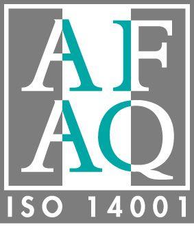 ISO 14.001 standard logo. © AFAQ