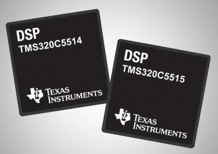 Texas Instruments is one of the world leaders in DSP manufacture. © Texas Instruments