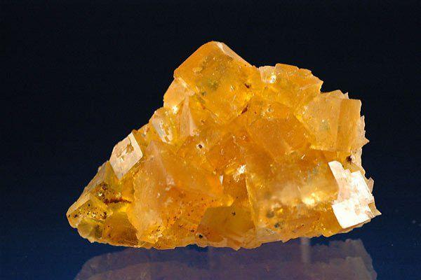 Golden-yellow fluorite. © Spathfluorminerals.com