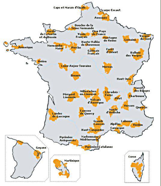 © Fédération des parcs régionaux de France.