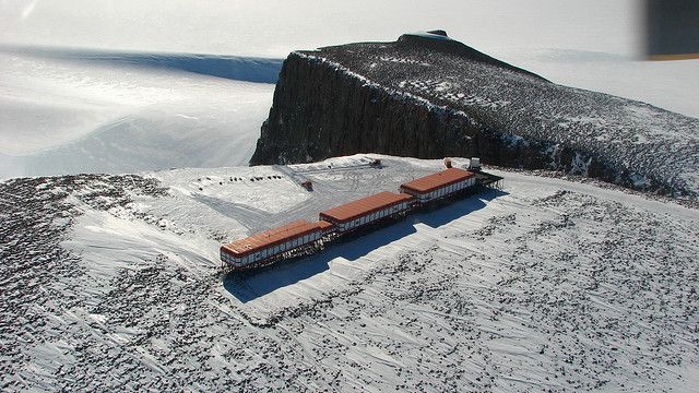A South African base in Antarctica. The Antarctic Treaty and Madrid Protocol ensure that this type of base will not give rise to territorial claims or environmental damage. © Chantal Steyn CC by-nc-nd 2.0